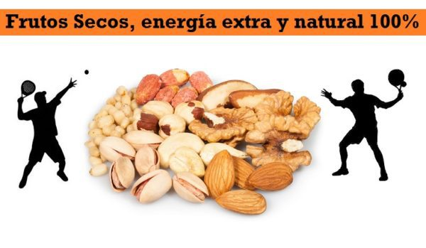 Frutos Secos, Energia para Deportistas