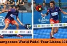 Campeones World Padel Tour Lisboa 2017