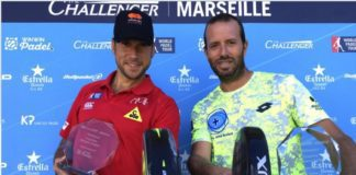 Campeones World Padel Tour Marsella 2017