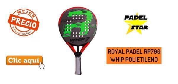 PALA ROYAL PADEL RP790 WHIP POLIETILENO