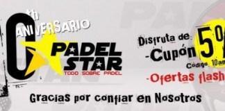PadelStar Cumple 10 Años
