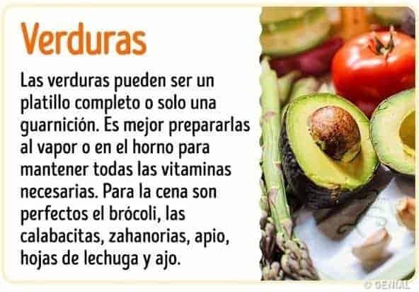 Beneficios de comer verduras