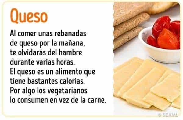 Beneficios de comer queso