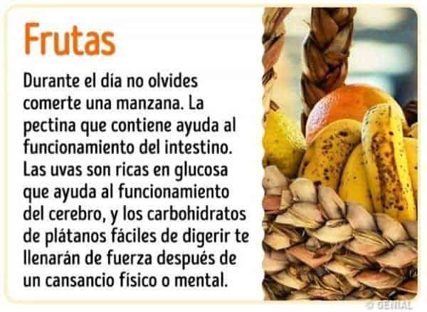 Beneficios de comer frutas