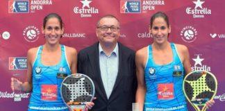 Campeonas World Padel Tour Andorra Femenino