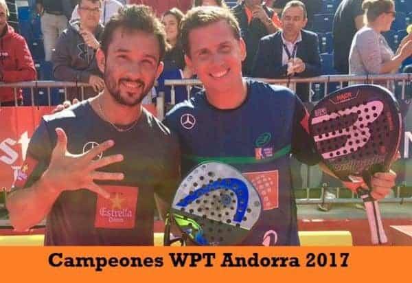 Campeones World Padel Tour Andorra 2017