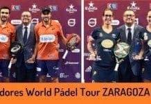 Campeones World Padel Tour Zaragoza 2017
