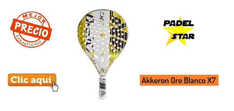 1c8371018 Análisis AKKERON ORO Blanco X7 – OPINIÓN ¡Gran Precisión! | PadelStar