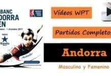 Partidos Completos World padel Tour Andorra 2017