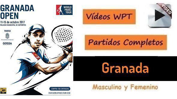 Partidos Padel Completos WPT Granada