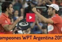 Campeones World Padel Tour Argentina 2017