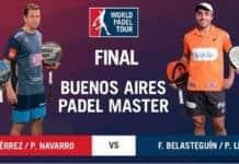 FINAL World Padel Tour ARGENTINA 2017
