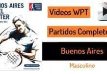 Partidos Padel Completos Buenos Aires 2017