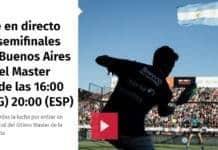 Partidos Semifinales World Padel Tour Argentina en directo
