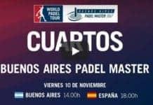 Partidos World Padel Tour Argentina en Directo