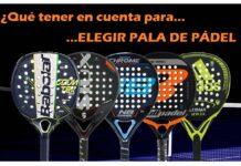 ELEGIR PALA DE PADEL