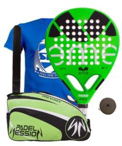 OFERTA PACK EME MOVE ENJOY Y PALETERO PADEL SESSION PRO SERIES