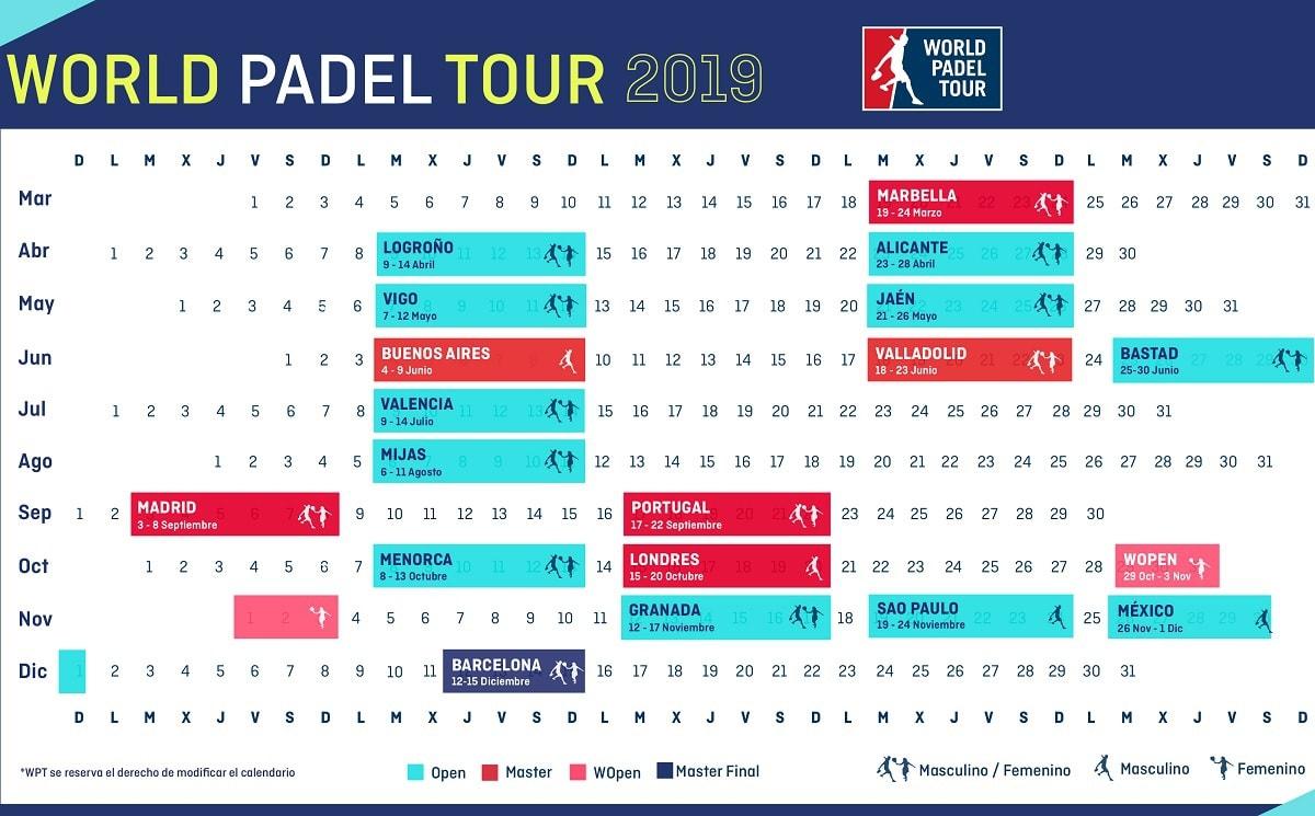 Calendario World Padel Tour.World Padel Tour En Directo Por Streaming Padelstar