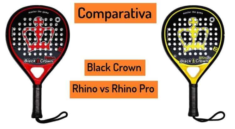 Opinion Pala BLACK CROWN RHINO y RHINO PRO
