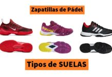 77d0ad9a SUELAS en Zapatillas de Pádel [Clay, Espiga, Omni, Mixta]