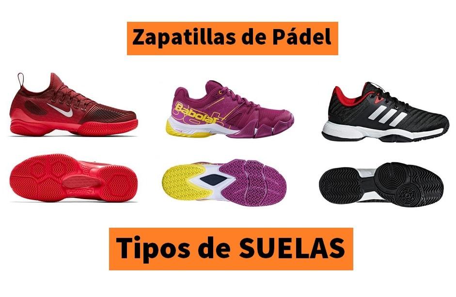 1a6f00fcad SUELAS en Zapatillas de Pádel [Clay, Espiga, Omni, Mixta] | PadelStar