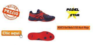 ASICS Gel Bela 5 SG Azul-Rojo