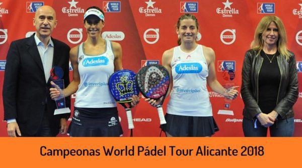 Campeonas World Padel Tour Femenino Alicante 2018