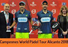Campeones World Padel Tour Alicante 2018