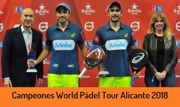Campeones World Padel Tour Alicante 2018