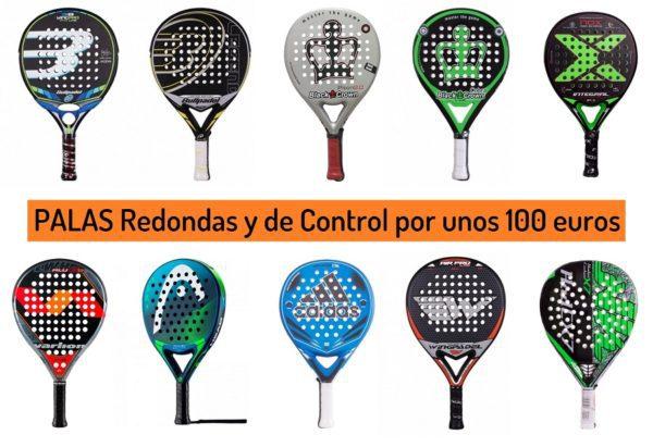 Palas Redondas de Control por 100 euros