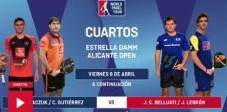 Partidos Cuartos Final World Padel Tour Alicante En Directo