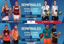 Semifinales World Padel Tour ALICANTE 2018