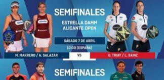 Semifinales World Padel Tour ALICANTE 2018