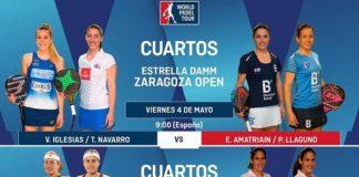 Cuartos Final World Padel Tour Zaragoza Femenino