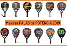 Mejores Palas Padel POTENCIA 2018