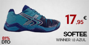 Oferta Zapatillas de Padel SOFTEE