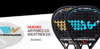 Palas Wing Padel Air Force y Attack