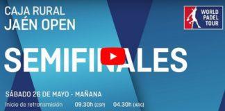 Semifinales World Padel Tour Jaen en directo