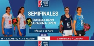 Semifinales World Padel Tour Zaragoza 2018