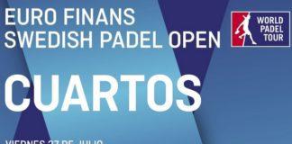 CUARTOS de FINAL World Padel Tour SUECIA