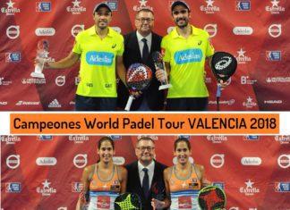 Campeones World Padel Tour Valencia 2018