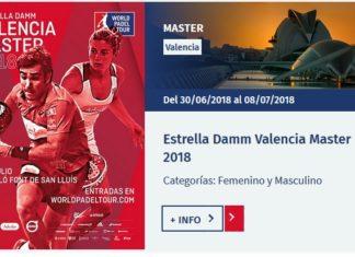 Final World Padel Tour VALENCIA 2018