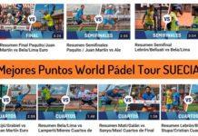 Mejores Puntos World Padel Tour Suecia