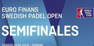 Semifinales world padel tour suecia