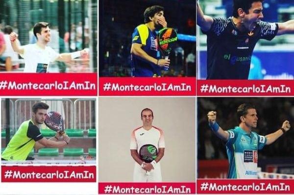 Jugadores Monte Carlo International Padel Tour