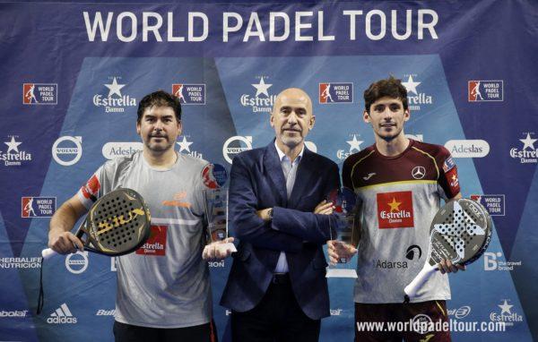 Campeones World Padel Tour Granada - Cristian Gutierrez y Franco Stupaczuk