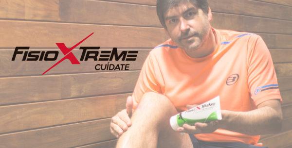 FisioXtreme - Gel Recuperador para jugadores de padel