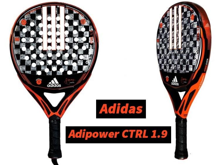 color atractivo estilo de moda de 2019 venta caliente real Análisis Pala Adidas ADIPOWER CONTROL 1.9 | PadelStar