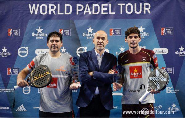 campeones world padel tour GRANADA 2018