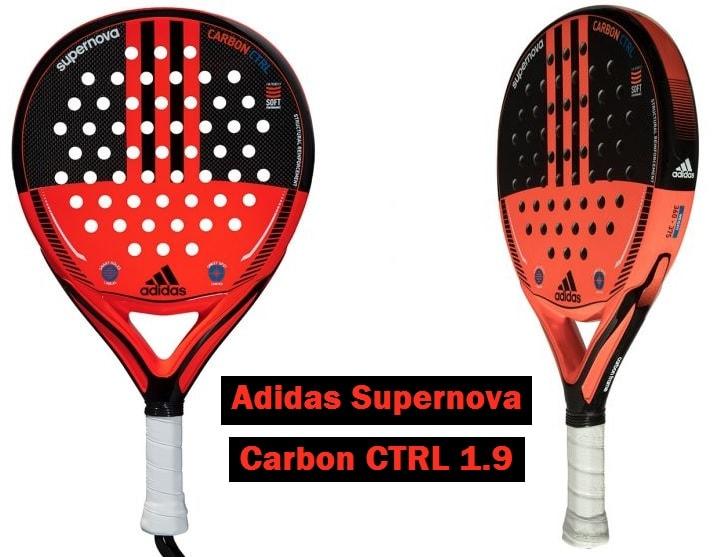 TEST Pala Adidas SUPERNOVA Carbon Control 1.9 | PadelStar